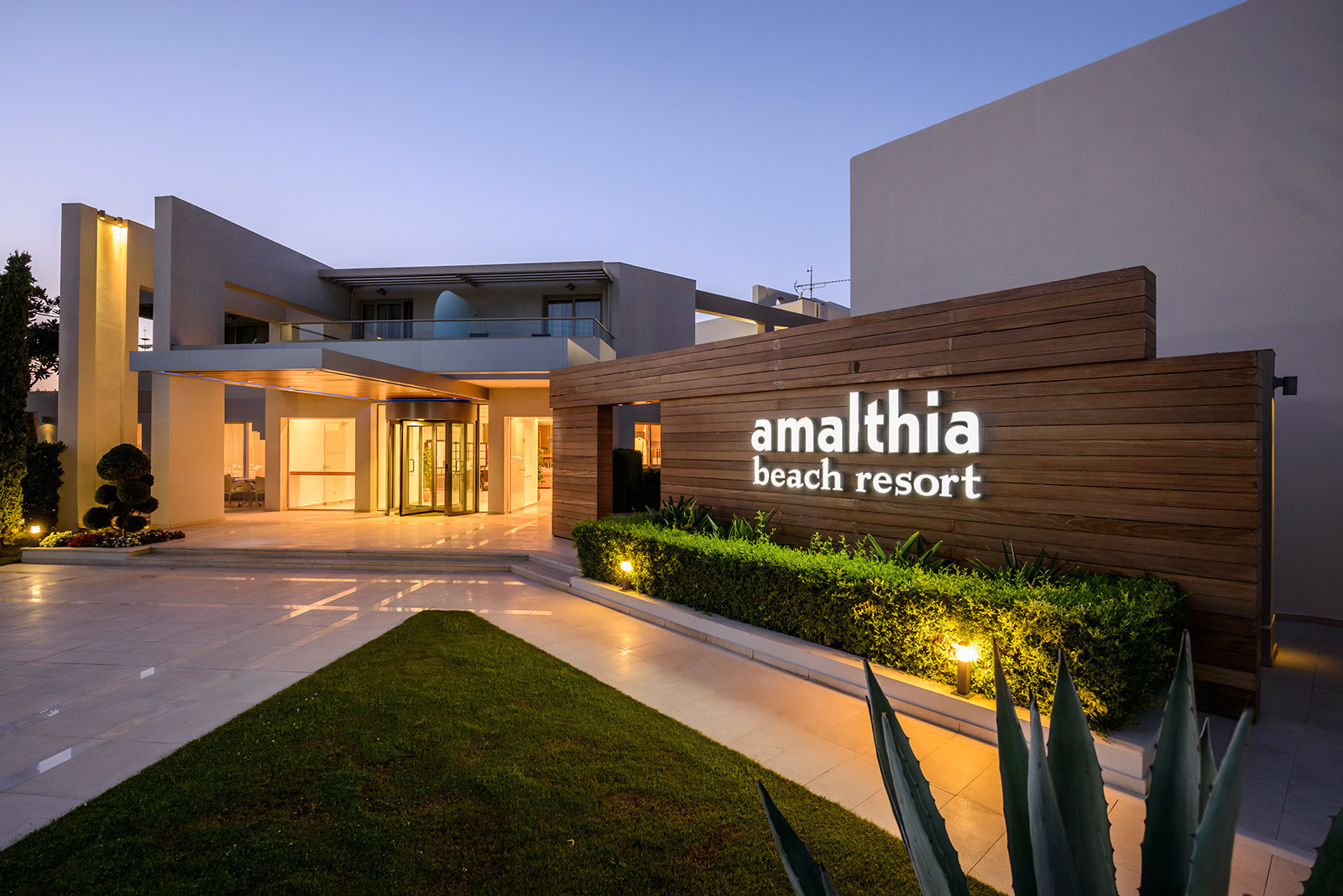 Amalthia Beach Resort 4 Luxury In Chania Crete Hotel Gr